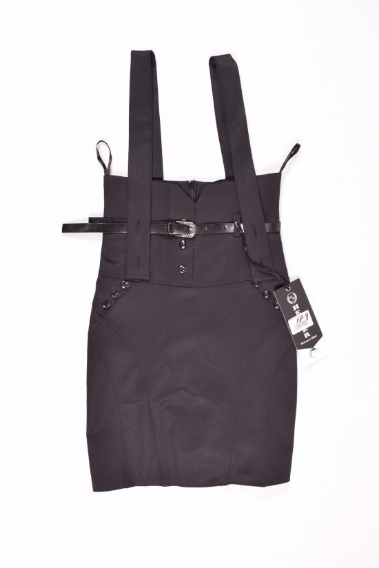 Сарафан-юбка для девочки (цв.черный) HEMBER Роста в наличии : 128,134,140,146,152 арт.046