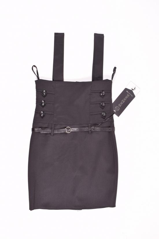 Сарафан-юбка для девочки (цв.черный) HEMBER Роста в наличии : 128,134,140,146,152 арт.049