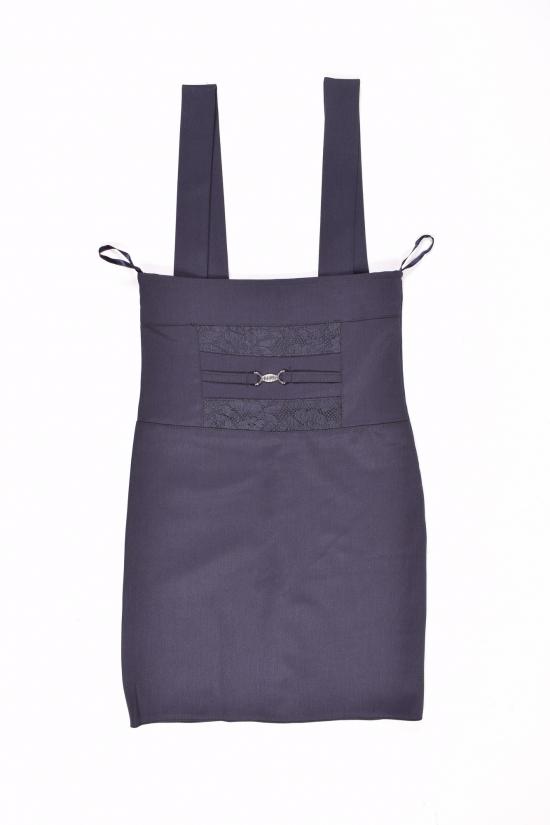 Сарафан-юбка для девочки (цв.т/синий) HEMBER Роста в наличии : 134,140,146,152 арт.11