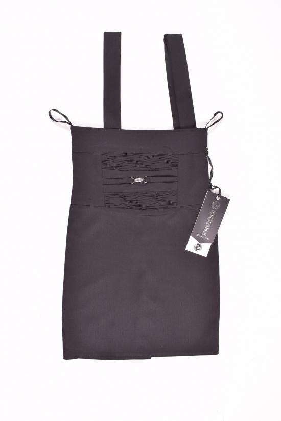 Сарафан-юбка для девочки (цв.т/черный) HEMBER Роста в наличии : 134,146,152 арт.11