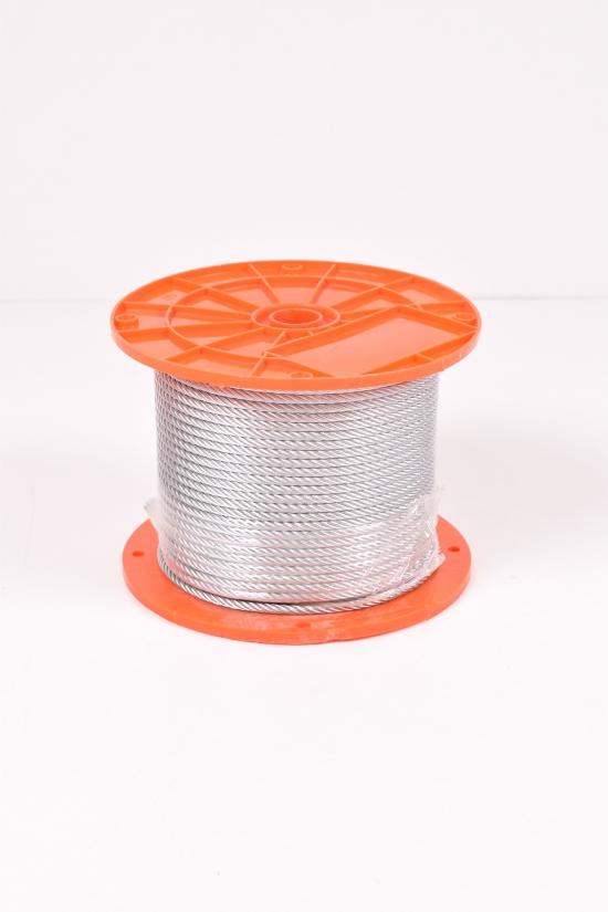 Трос (6х19) DIN3060 оцинкованный 5мм (цена за 1м) арт.DIN3060