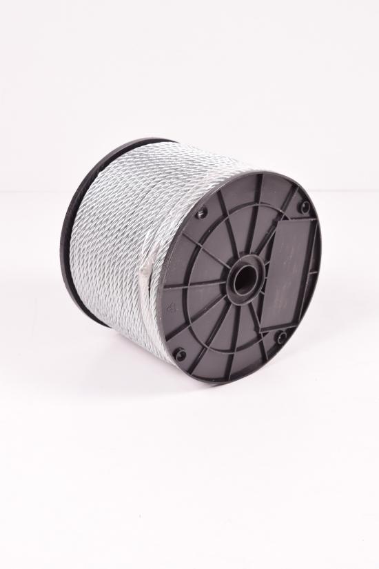 Трос (6х19) DIN3060 оцинкованный 6мм (цена за 1м) арт.DIN3060
