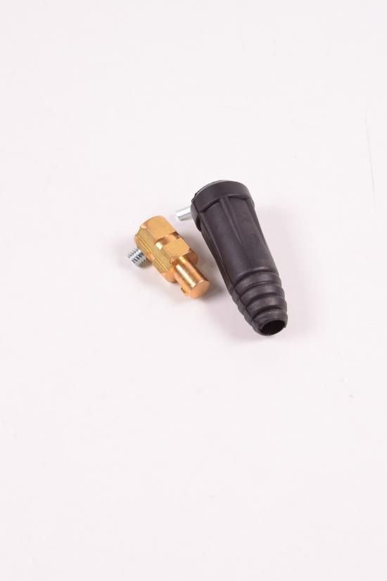 Штекер для сварочного кабеля 35х50 мм2 арт.EZ-0002