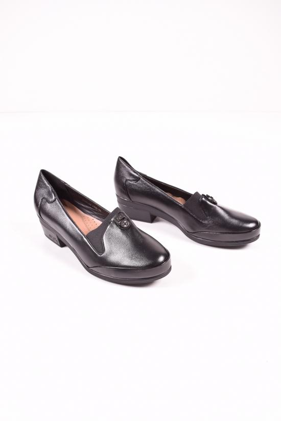 Туфли женские (цв.черный) MOLO Размеры в наличии : 40,41,42,43 арт.775D