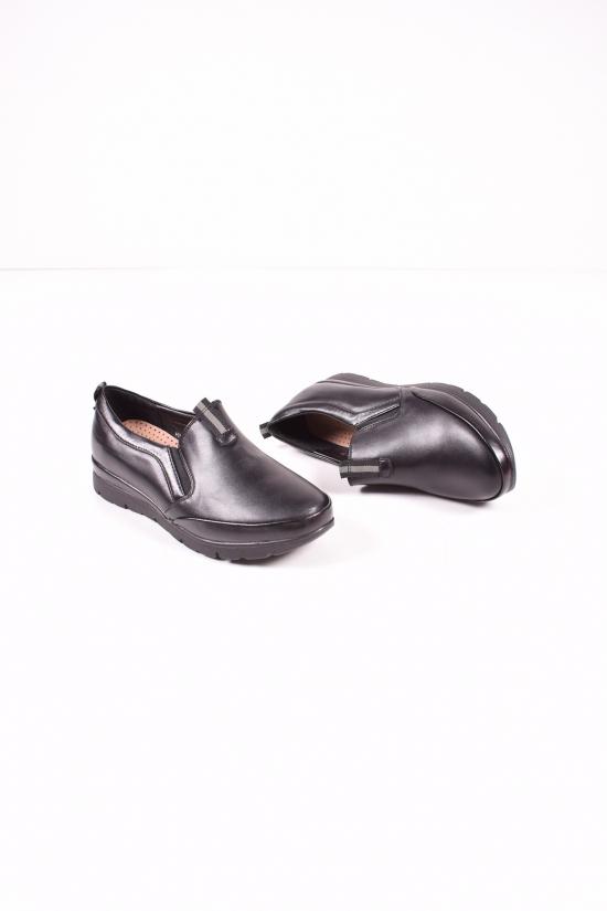 Туфли женские (цв.черный) MOLO Размеры в наличии : 36,37,38,39,40,41 арт.744N