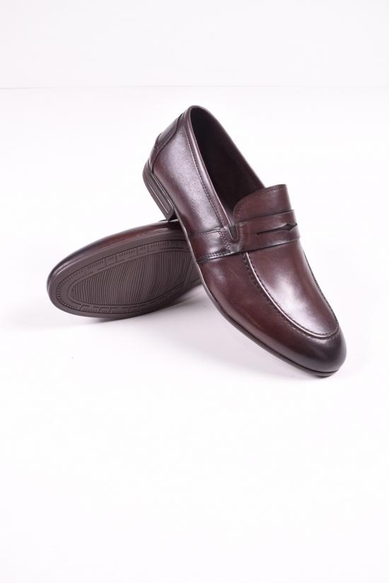 Туфли  мужские из натуральной кожи BOSS VIKTORI Размеры в наличии : 39,40,41,42,43,44 арт.B223-B1-SG-Z7005