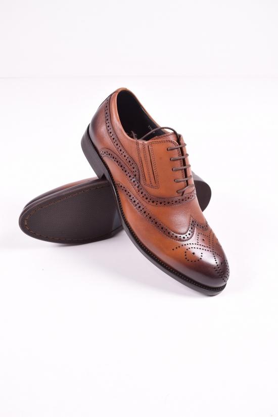 Туфли  мужские из натуральной кожи BOSS VIKTORI Размеры в наличии : 39,40,41,43,44 арт.BY81-B1-SG2-Z7837