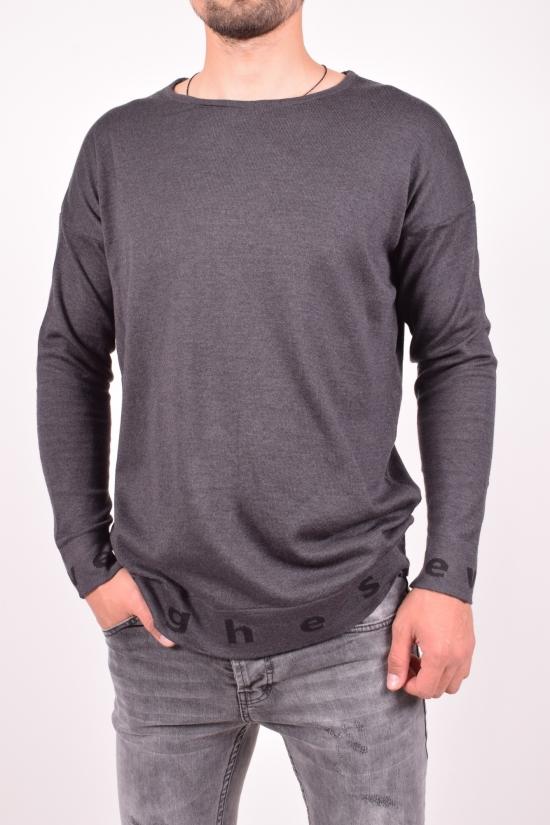 Свитер мужской (цв.серый) тонкой вязки Lagos Размеры в наличии : 50,52,54,56 арт.2556
