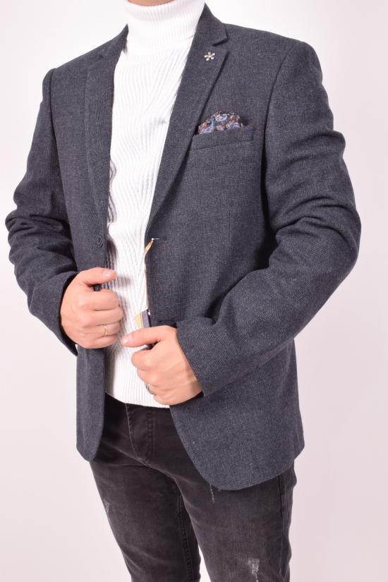 Пиджак мужской (color 01) Palmiro rossi рост 6 (fabric 3047) Размеры в наличии : 46,48,50 арт.5001