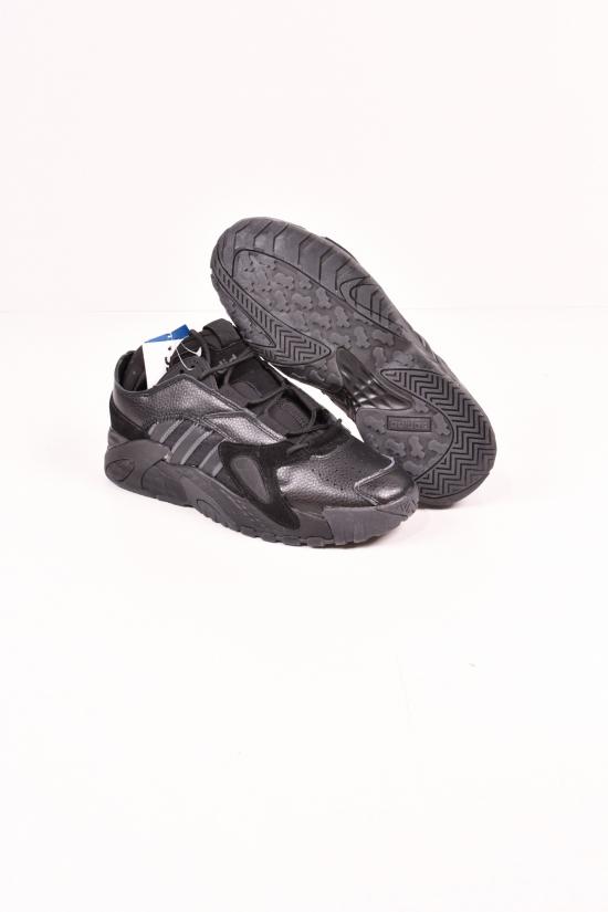 Кроссовки мужские со вставками натуральной кожи  ADIDAS Размеры в наличии : 41, 43, 44, 45, 46 арт.A013-10