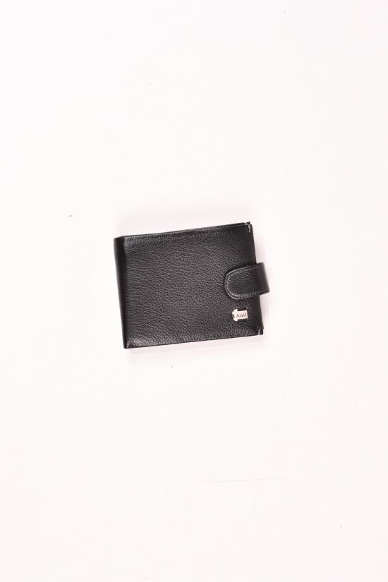 Кошелек-зажим мужской ( цв.черный)  размер 11/9см Anil арт.731-A