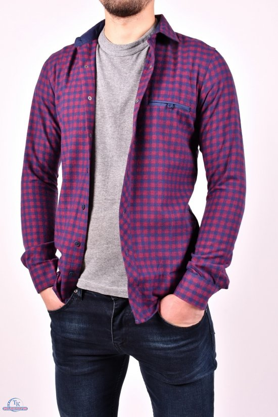 """Рубашка мужская """"CRESTANCE"""" Размер ворота в наличии : 39, 41, 43, 45, 46, 48 арт.SKY2883"""