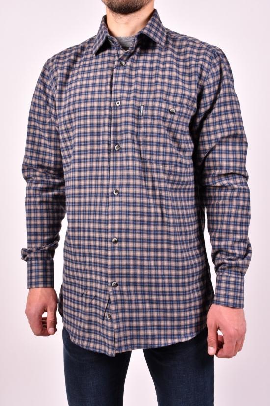 """Рубашка мужская """"BROSARD"""" Размер ворота в наличии : 39, 40, 41, 42, 43, 44, 45, 46 арт.SKY2887"""