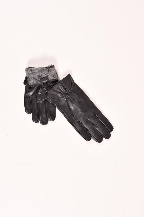 Перчатки для мальчика кожаные на меху Paidi арт.832-5