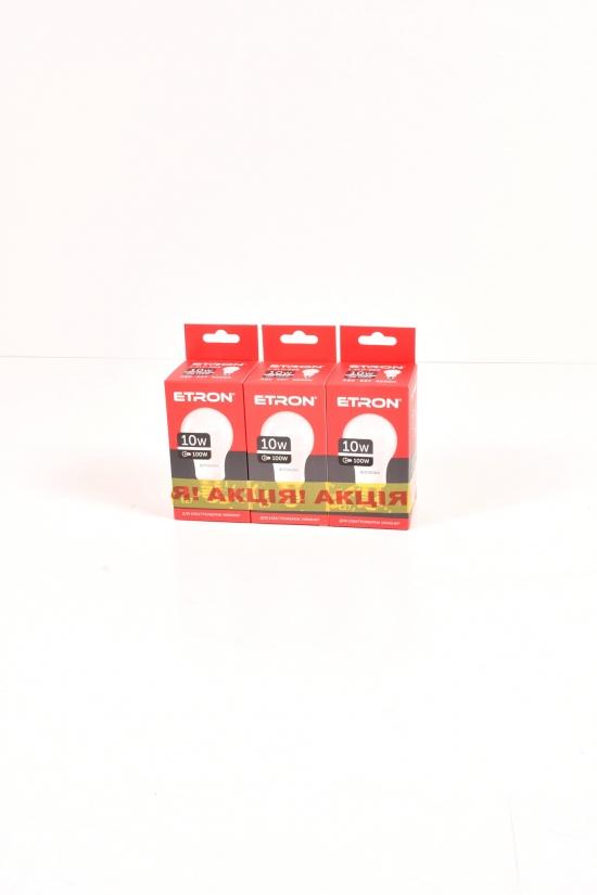 Набор светодиодных лампочек A60 10W E27 ETRON 3шт. арт.3-ELP-008-3