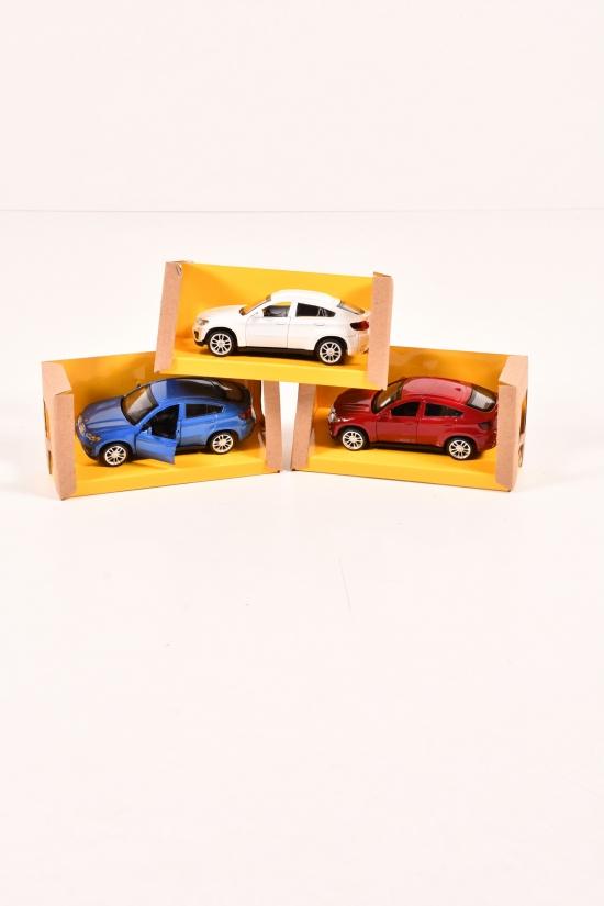 """Машина метал. """"Автопром"""" 1:43 BMW X6    14.5/6.5/7см арт.4306"""