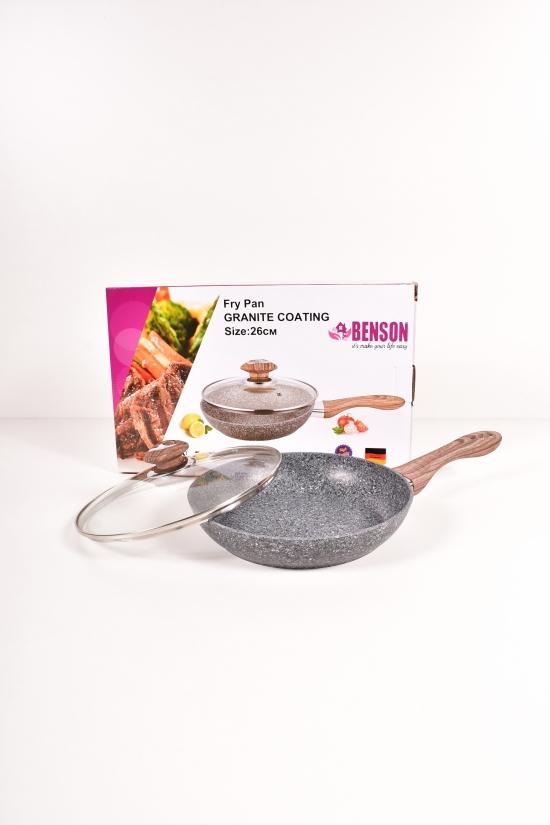Сковорода с гранитным покрытием (d-26см) Benson арт.BN-543
