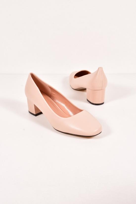 Туфли женские (цв.черный) Gukkcr Размеры в наличии : 41,42,43 арт.4517