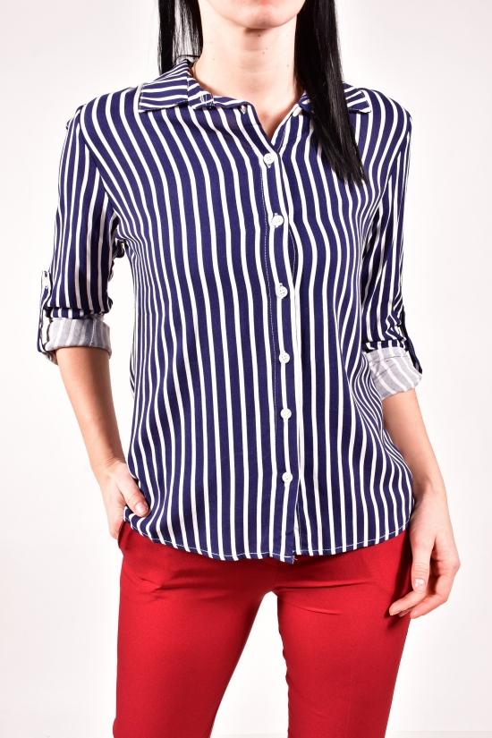 Рубашка женская (цв.т.синий) Burrasca Размеры в наличии : 44,46,48 арт.15897