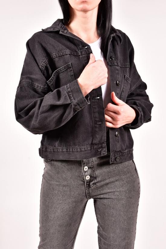 Пиджак джинсовый женский (цв. R03) Размеры в наличии : 42, 44, 46 арт.5016