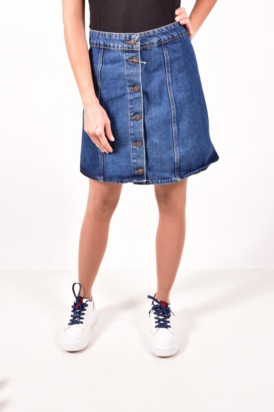 Юбка джинсовая женская (цв.R02) Размеры в наличии : 38,40,42,44 арт.3001