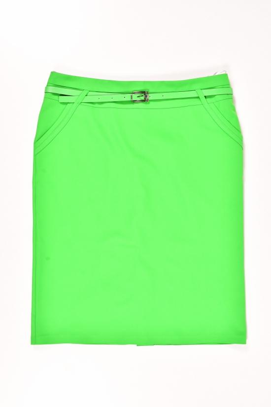 Юбка женская (цв.зеленый) MY SEWO Размеры в наличии : 48,50,52,54 арт.2073