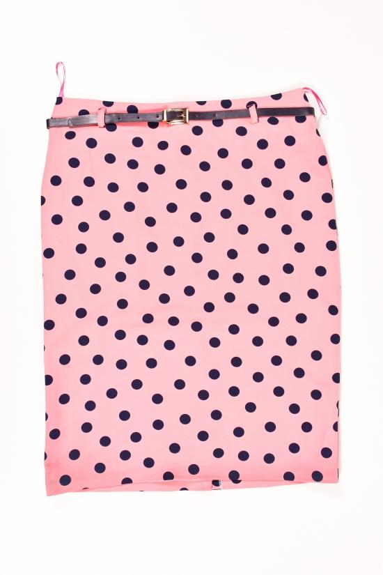 Юбка женская (цв.розовый) MY SEWO Размеры в наличии : 48,50,52,54 арт.2161
