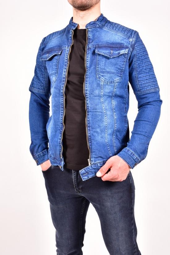 """Пиджак джинсовый мужской (цв.т.синий) """"FOURTY FOUR"""" Размер в наличии : 42 арт.3025"""