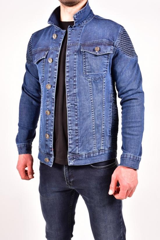 """Пиджак джинсовый мужской (цв.т.синий) """"FOURTY FOUR"""" Размеры в наличии : 44,46 арт.2940"""