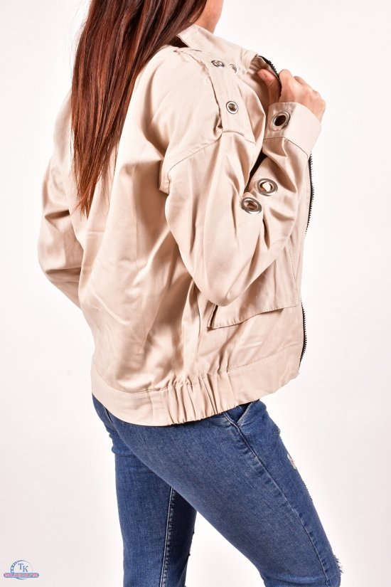 Ветровка женская (цв. кремовый) Asist Размеры в наличии : 42,44,46 арт.2007