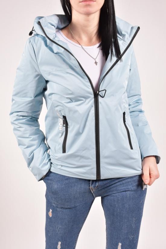 Куртка женская демисезонная (цв.голубой) D.S Размеры в наличии : 44,46,48,50,52 арт.20-8060