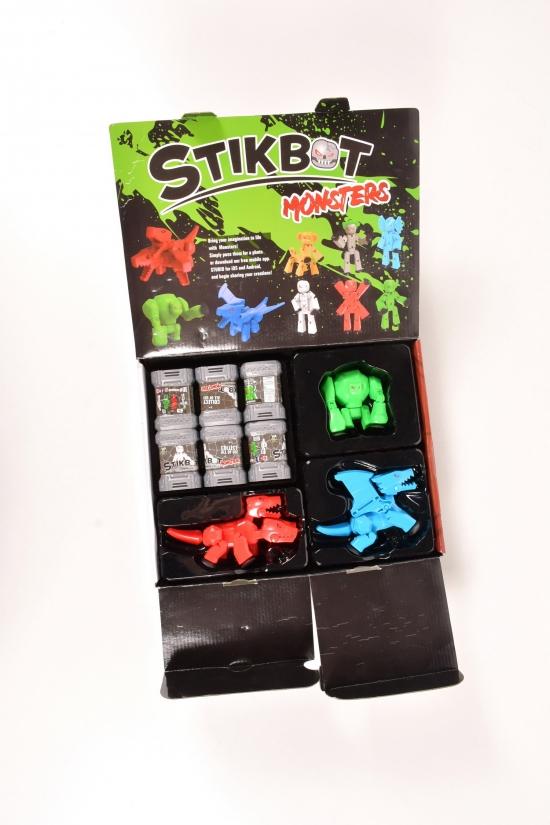 Набор для анимации СТИКБОТ STIKBOT Большой набор 3+6 арт.JM-25