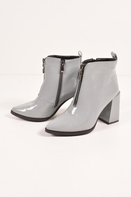 """Ботинки женские демисезонные""""OMIILA"""" Размеры в наличии : 37, 38, 39, 40 арт.H29"""