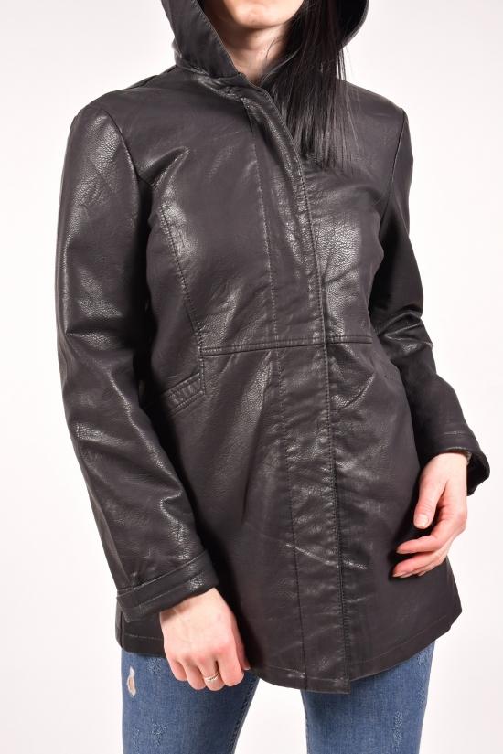 Куртка женская из кожзаменителя Размеры в наличии : 48,50,52,54,56,58 арт.998