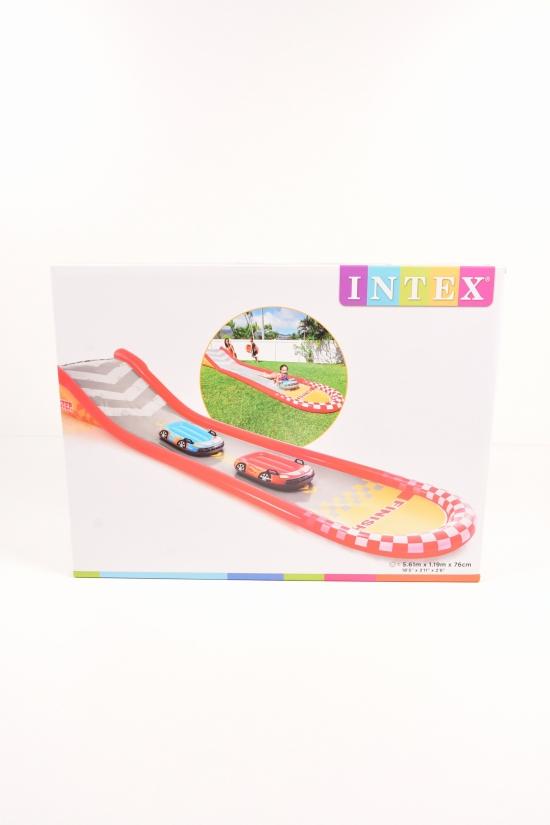 Игровой центр Racing Fun Slide горка с 2 машинками (561/119/76см.) арт.57167