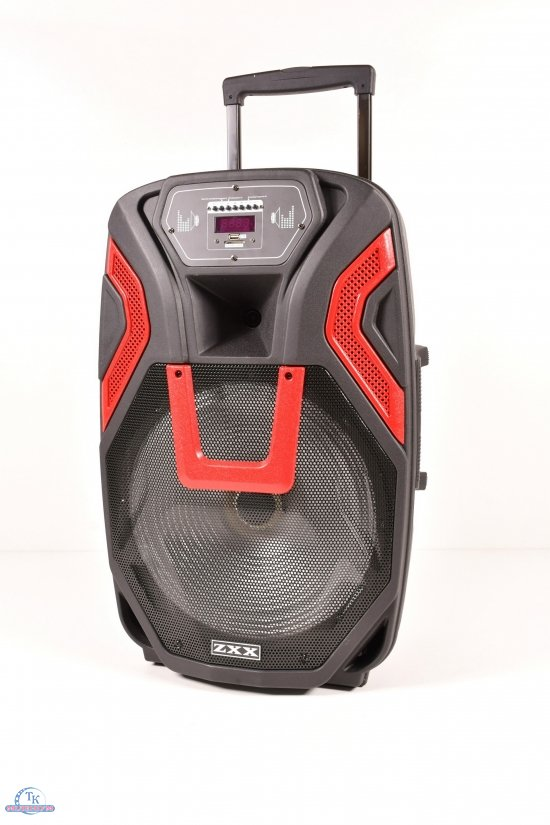 Автономная акустическая система (BLUETOOTH USB FM микрофон пульт) на аккумуляторе арт.ZXX-1503