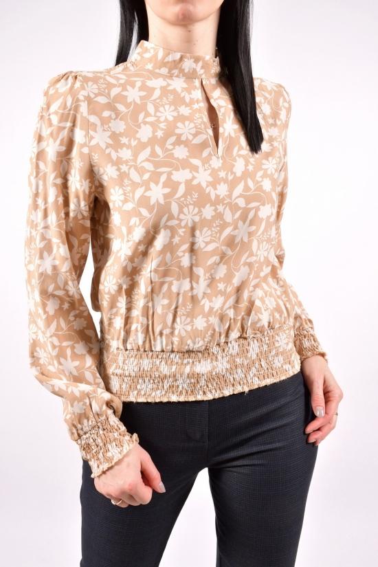 Блузка женская (цв.капучино) Размеры в наличии : 42,44,46,48 арт.21030