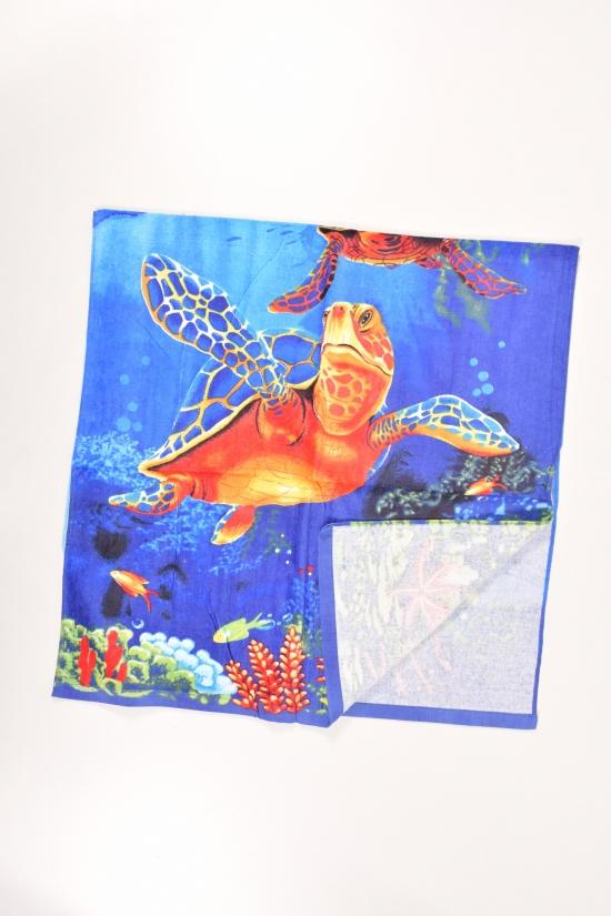 Полотенце пляжное размер 140/70 см (вес 0,260 кг.) арт.1009