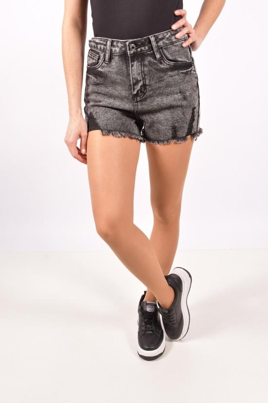Шорты джинсовые женские стрейчевые Forest Jeans Размеры в наличии : 25,26,27,28,29,30 арт.Z5398
