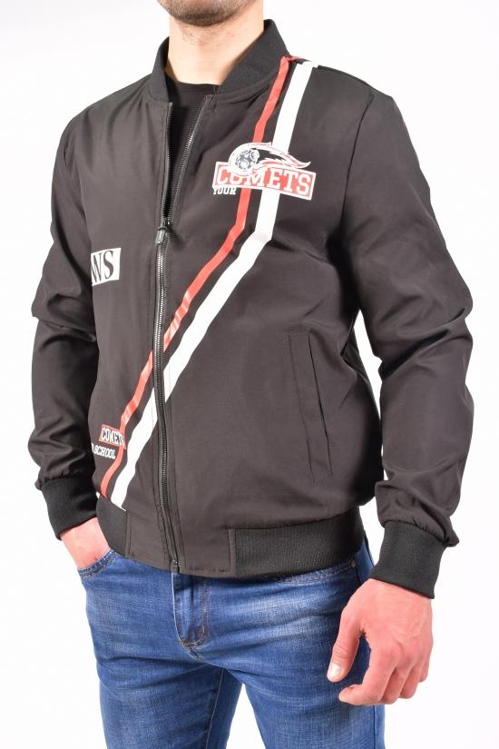 Куртка мужская демисезонная (цв.черный) Wonderman Размеры в наличии : 48,50,52,54,56 арт.JC-9943