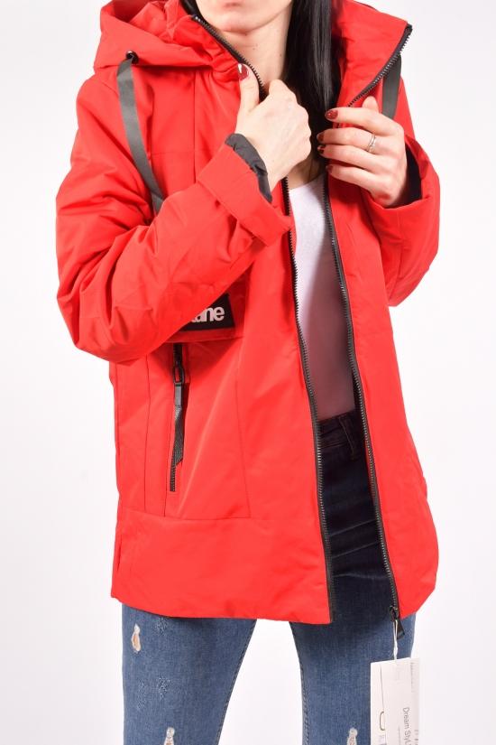 Куртка женская демисезонная (цв.красный) D.S Размеры в наличии : 54,56 арт.20-5072