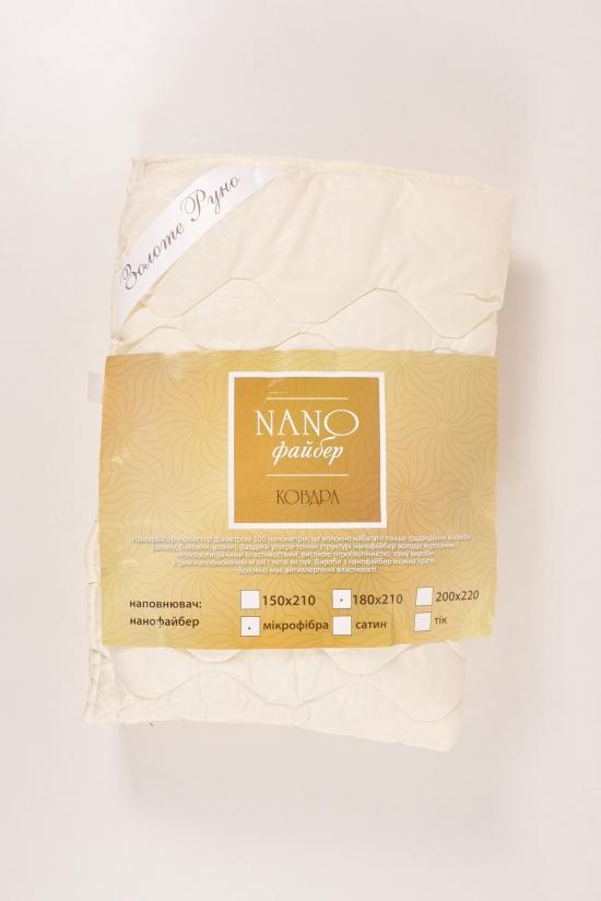 Одеяло NANO на лето  размер 180/210 наполнитель нанофайбер ткань микрофибра арт.180/210