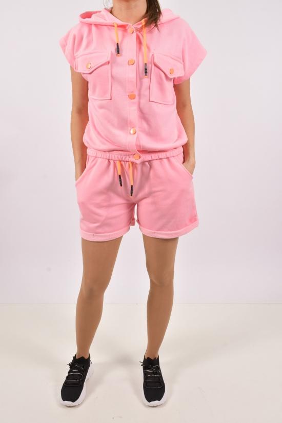 Костюм женский трикотажный (цв.розовый) MY LINDA Размеры в наличии : 42,44,46,48 арт.Y2170