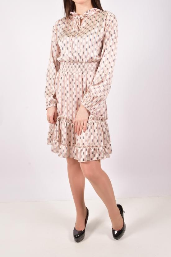 Платье женское (цв.капучино) LIGHTHER Размеры в наличии : 40,42,44,46 арт.1390