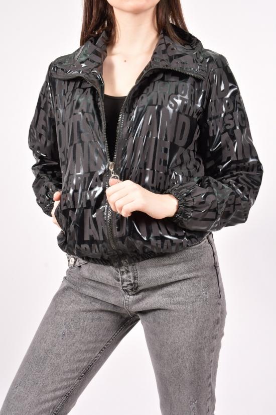Ветровка женская (цв.черный)  Asist Размеры в наличии : 40,42,44 арт.AST-699