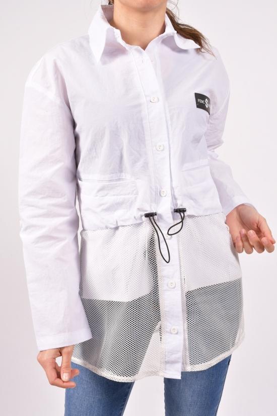 Рубашка женская (цв.белый) Asist Размеры в наличии : 42,44,46 арт.2009