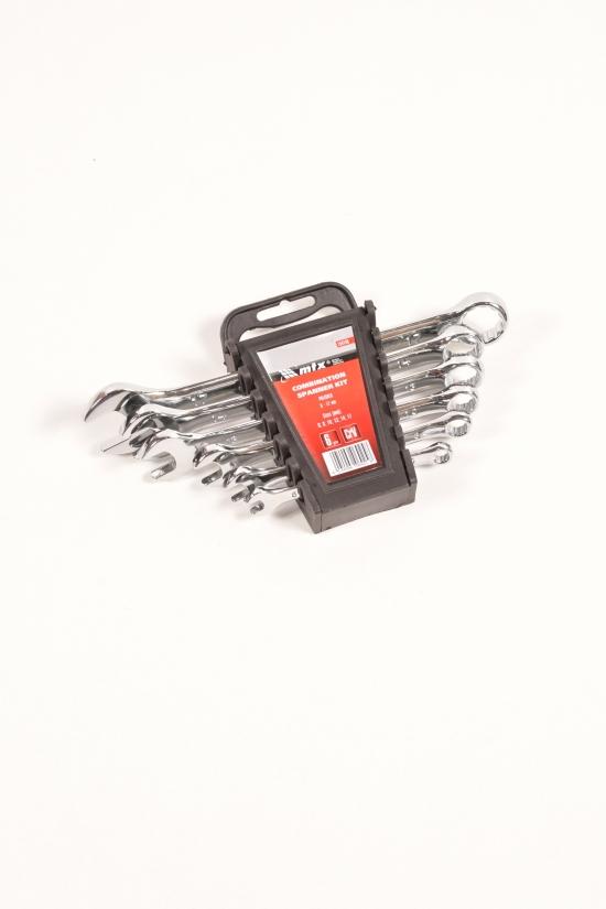 Набор ключей комбинированных 6-17 мм,6 шт.полированный хром CrV арт.154149