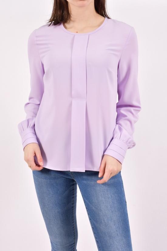 Блузка женская (цв.сиреневый) LYC Размеры в наличии : 42,44,46,48 арт.051-05019