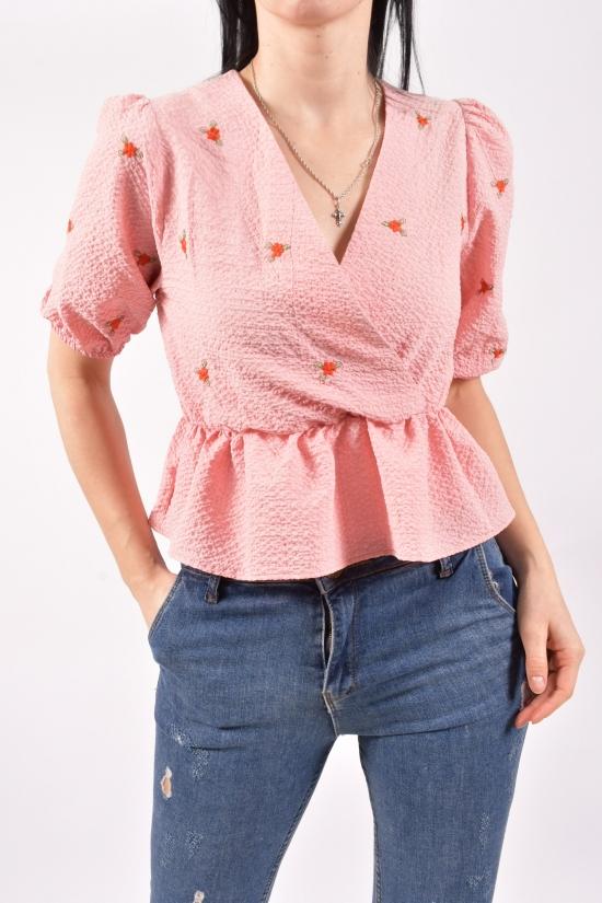 Блузка женская (цв.пудры) Размеры в наличии : 40,42,44 арт.30048