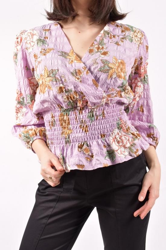 Блузка женская (цв.сиреневый) Размеры в наличии : 40,42 арт.30034
